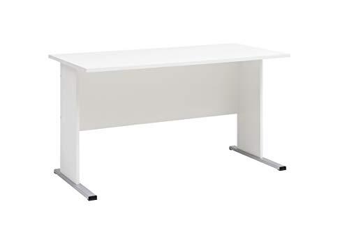 Möbelpartner Milo Schreibtisch, weiß, ca. 140,0 x 65,0 x 74,2 cm