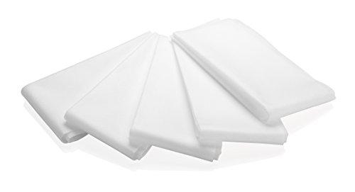 Tescoma Lavettes de la Maison pour Préparer des Fromages Onctueux 5 Pièces Tissu Blanc