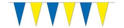 Wimpelkette blau / gelb NEU Wimpelketten