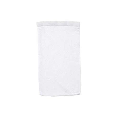 Yowablo 5 Stück Schwimmbad Aquarium Socken Net Mesh Sump White Aquarium Reinigungswerkzeug (5Stck,Weiß)