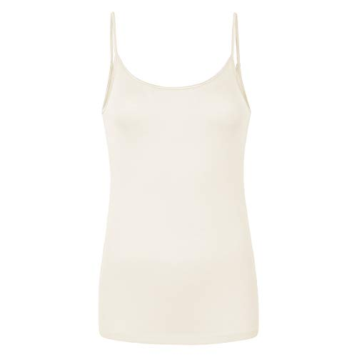 Pompadour - Intime 582 - Spaghetti-Top (42 Champagner)