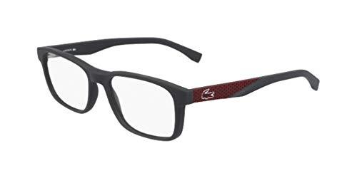 Lacoste L2842 Injected - Gafas de Sol Dark Grey Matte, Unisex, Adulto, Multicolor, estándar