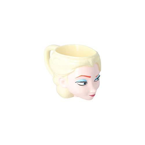Elemed 86887 Tazza 3D a forma di Elsa di Frozen