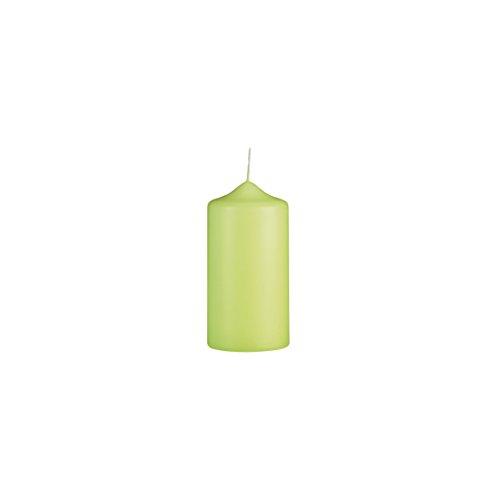 Handgetauchte Kerze | 70/40 mm | Hellgrün | Brenndauer: ca. 6 Std | Original von Steinhart