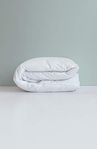 Kadolis Clim Light Baby-Bettdecke Bio-Baumwolle und Tencel Weiß 100 x 140 cm