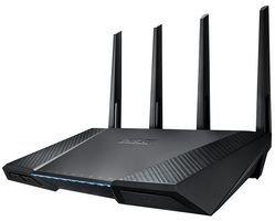 Router inalámbrico AC2400 DB Gigabit BPSCA RT-AC87U - CS29604 de ASUS