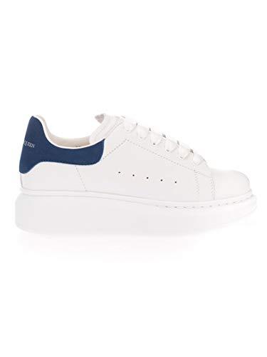 Alexander McQueen Luxury Fashion Junge 587691WHX129086 Blau Leder Sneakers | Herbst Winter 20
