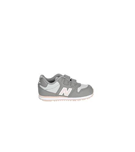 NEW BALANCE - Deportiva Lifestyle Doble Velcro 500 Sintético Niñas Color: Gris...