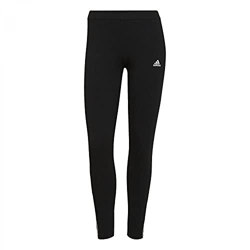 adidas W DK 3S 78 TIG Leggings, Negro/Blanco, 2XL Women's