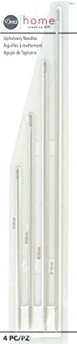 Dritz tapicería Needles-Assorted 4/Pkg