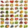100 + Mix Vegetable Seeds Aubergine, Jack haricots, poivre, gourde, citrouille, fraise, courge, maïs, haricot, tomate