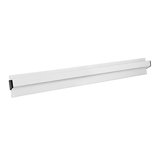 SANON Slide Check Rack, Aluminum Alloy Bill Folder Wall- Mounted Ticket Rack Holder Receipt Hanging Rack, Ticket Rack, Tab Grabber- Silver, 50cm