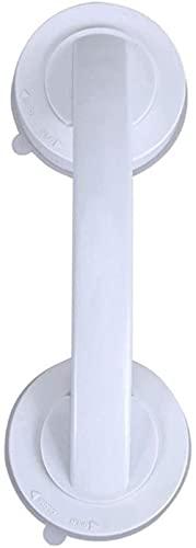 ETRVBSWE Vakuumsauger Saugnapf Handlauf Badezimmer Super Grip Sicherheit Haltegriff Griff für Glastür Badezimmer Elder (Farbe : Weiß, Haltegriff Größe : Andere)