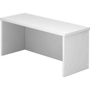 k.A. Thekenaufsatz für Schreibtisch 800x800mm Grau