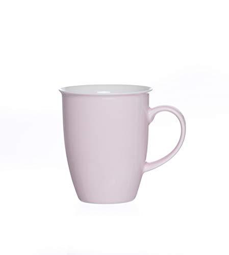 Ritzenhoff & Breker Kaffeebecher Set 6tlg. Doppio Rosa Weiß