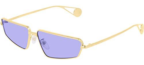 Gucci Gafas de Sol GG0537S GOLD/BLUE 63/14/140 mujer