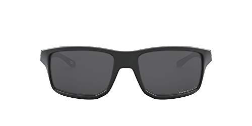 Oakley Herren GIBSTON Sonnenbrille, Matte Black, 60