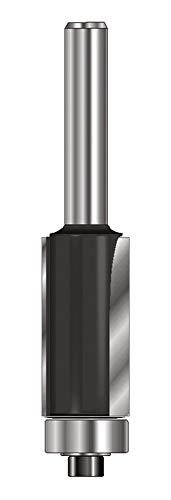 ENT 13585 Bündigfräser HW (HM), Schaft (C) 8 mm, Durchmesser (A) 19,05 mm, B 19 mm, D 32 mm, GL 62 mm, mit Kugellager