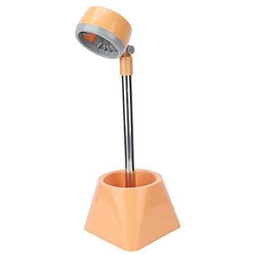 Soporte para secador de pelo, soporte giratorio ajustable de 90 grados para secador de pelo, soporte para secador de pelo perezoso sin manos para salón, aseo de mascotas, baño(Sin flor)