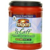 Folgers Half Caff Coffee, 10.8 Ounce (Pack of 2)