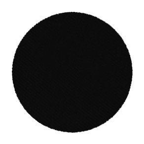 Profi Make-Up Puder Lidschatten/eyeshadow, refill, sehr hohe Pigmentierung, Farbe: blackest black, 2...