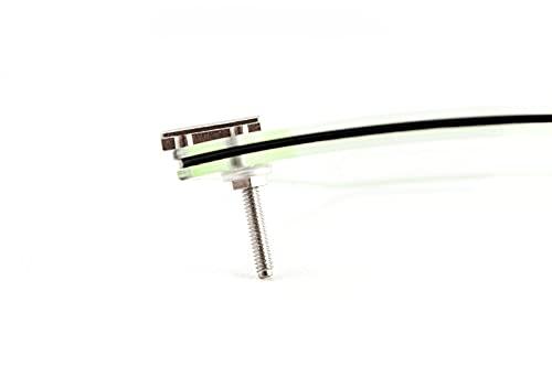 Preisvergleich Produktbild Switch it! MIM-Teile aus Edelstahl / Montageset für Switch it! Brillen