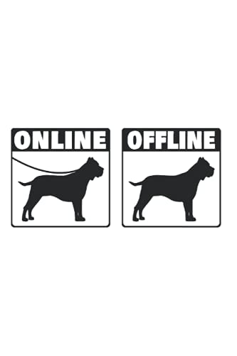 Presa Canario Daily Planner: Presa Canario Online Dogo Internet / Calendar 2022...
