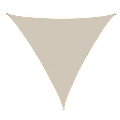 Toldos Impermeables ExteriorDe Varios Tamaños Vela De Sombra, Vela De Sombra Rectangular Protección Rayos UV, Toldo Resistente E Lmpermeable (6 * 6 * 6M,off white)