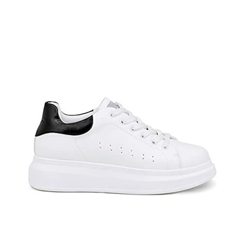 QUEEN HELENA Sneakers Bianche Scarpe da Ginnastica Donna 39 EU