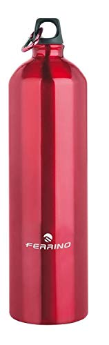 Ferrino, Borraccia in Alluminio Rosso