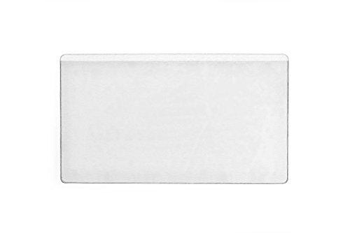 Durable 831919 Selbstklebetasche Pocketifix (105 x 65 mm (Innen)) ,100 Stück, transparent