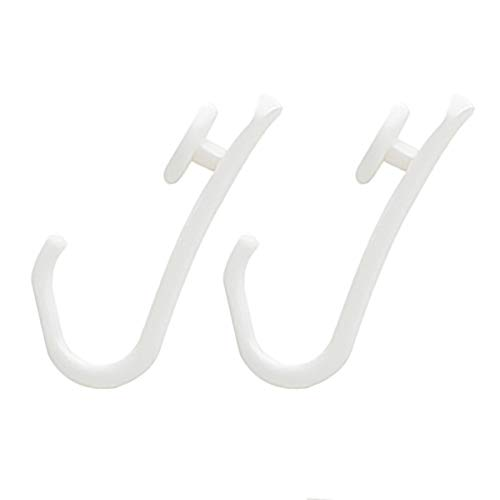 Sealskin Ersatz-Haken für Easy-Roll Duschvorhangstange, 12 Stück, Farbe: weiß, Kunststoff
