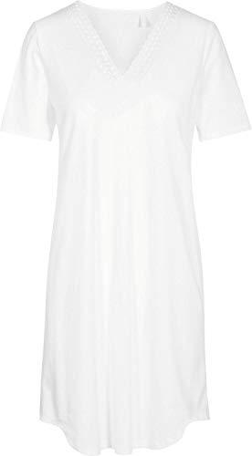 Rösch Damen-Nachthemd Interlock-Jersey weiß Größe 50