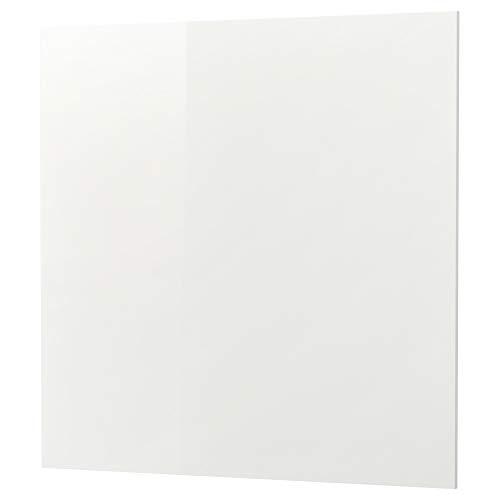 SIBBARP specialtillverkad väggpanel 1 m²x1,3 cm högglansig vit/laminat