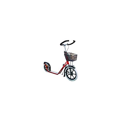 ESLA Trottinette Footbike Step 4100 Red + Petit Panier