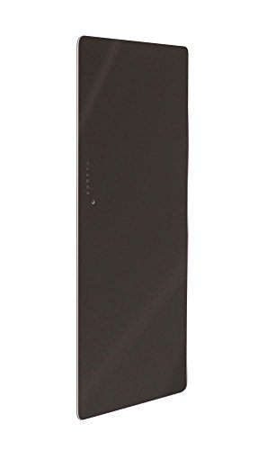 Lohema Design glazen radiator elektrisch Classic 1500W zwart 1520x 600mm