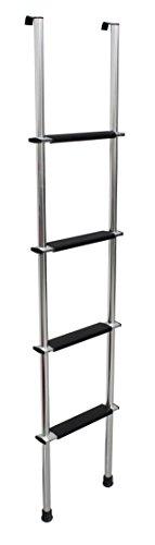 Quick Products QP-LA-466S RV Bunk Ladder, 66' - Silver