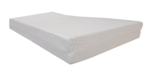 Dibapur XXL - Colchón de espuma fría (7 zonas, ortopédico, 24,5 cm de altura, alta densidad)
