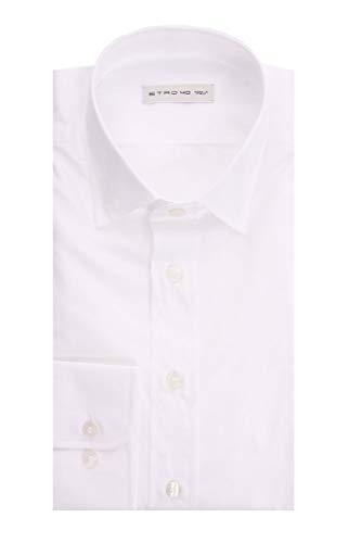 Etro White Shirt, Hombre.