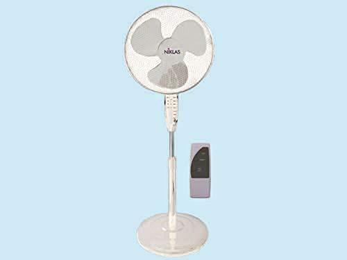 Ventilador Niklas Comfort de pie con mando a distancia – 45 W – 3 velocidades