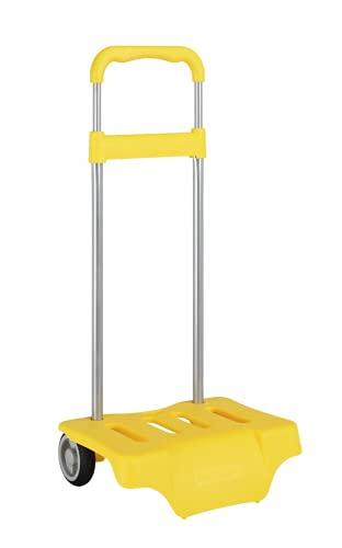 Safta 641090905 Carrito para equipaje, 50 cm, Amarillo