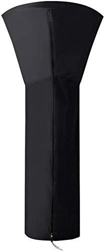 zimohe Wetterschutzhülle für Terrassenheizer, Winddicht, Wasserdicht, UV-Beständiges, Schwerlast Reißfest 210D Oxford Gewebe Heizstrahler Abdeckung