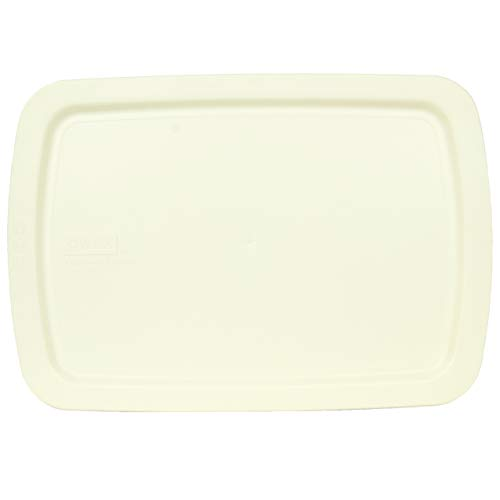 Pyrex C-233-PC 3 Quart Cream White 9' x 13' Easy Grab Baking Dish Lid - Will NOT Fit Standard Baking Dish