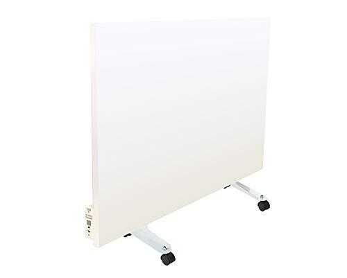 Teploceramic Infrarotheizung Keramikheizung Digitalthermostat TCM-RA 750 Weiß 750W 5 Jahre Herstellergarantie