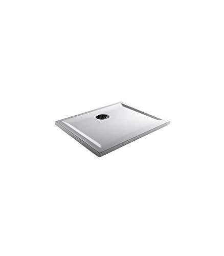 Teuco - Douchebak rechthoekig wit Perspectief - 90x70, Wit, Op voorraad