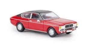 PCX87 PCX870017 Ford Granada MK I Coupe, rot/matt-schwarz, 1974, Fertigmodell…