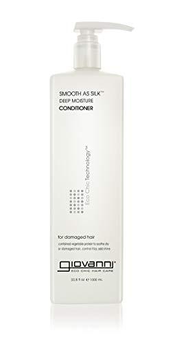 Giovanni Smooth as Silk Conditioner - Deep Moisturizing and Frizz Calming Formula 33.8 oz