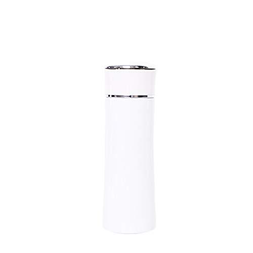 CAIYAH Taza de agua deportiva La taza de agua deportiva portátil no contiene BPA Botella de agua deportiva a prueba de fugas adecuada para acampar en bicicleta y deportes al aire libre Blanco
