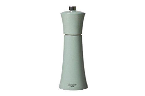 Moulin à sel Bisetti vert d'eau H:17.5cm