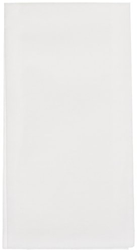 """Hoffmaster 856802 Linen-Like Guest Towel, 1/6 Fold, 17"""" Length x 12"""" Width, White (Case of 300)"""